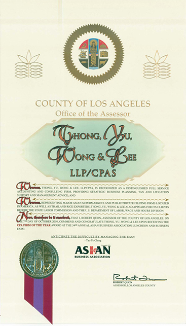 Presented by Office of the Assessor, County of Los Angeles